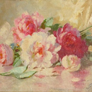 GRAVES: Roses on a Table,