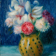 GLACKENS: Flowers in a Spotted Jug,