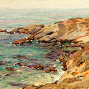 SYMONS: Coastal Seascape, 1913