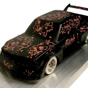 WARHOL: 1978 BMW 320i Art Car Maquette, 1978
